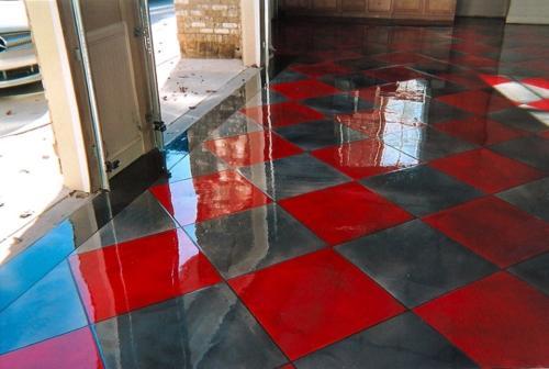 ECS-REFLECTOR-Cuadricula-Titanium-Rojo-Garaje